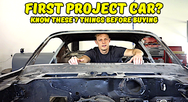First Project Car Feature Image