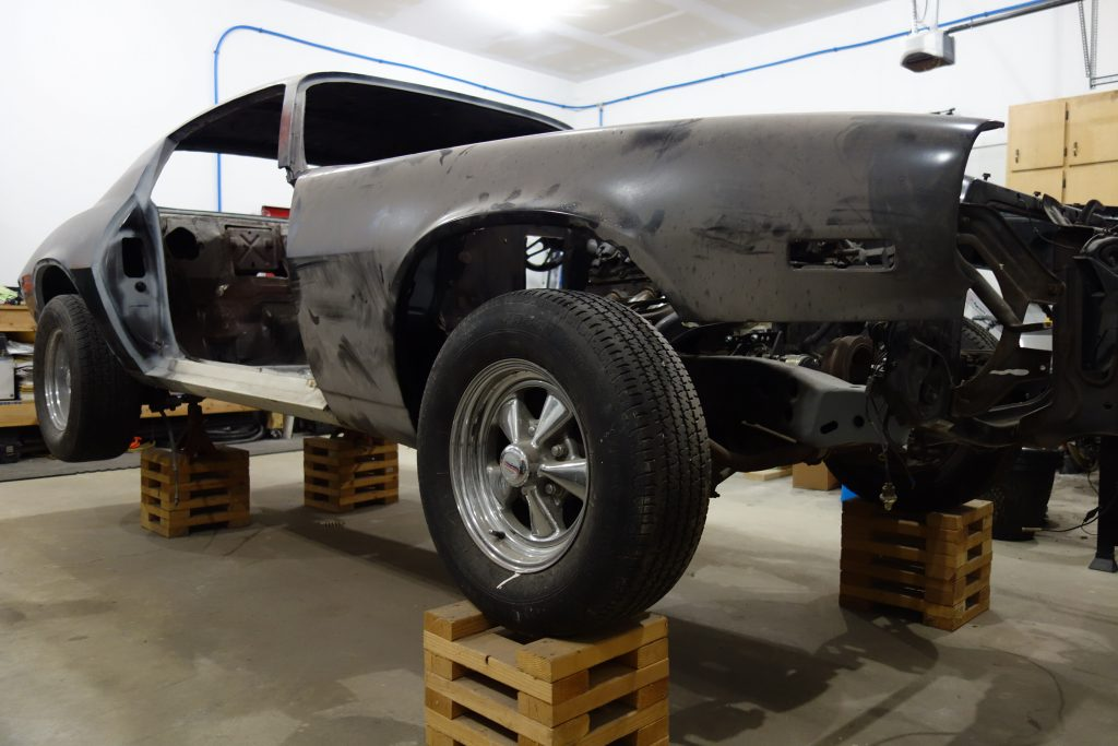 Current state of 1971 Camaro project