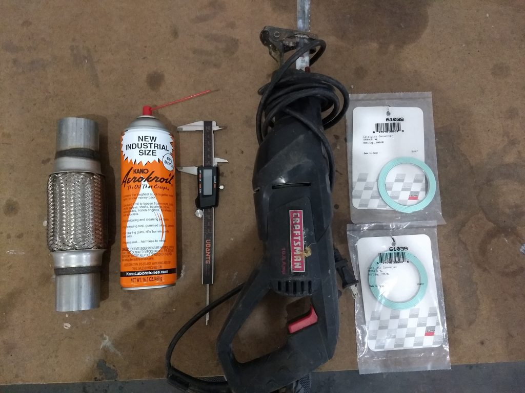 Flex pipe tools and materials