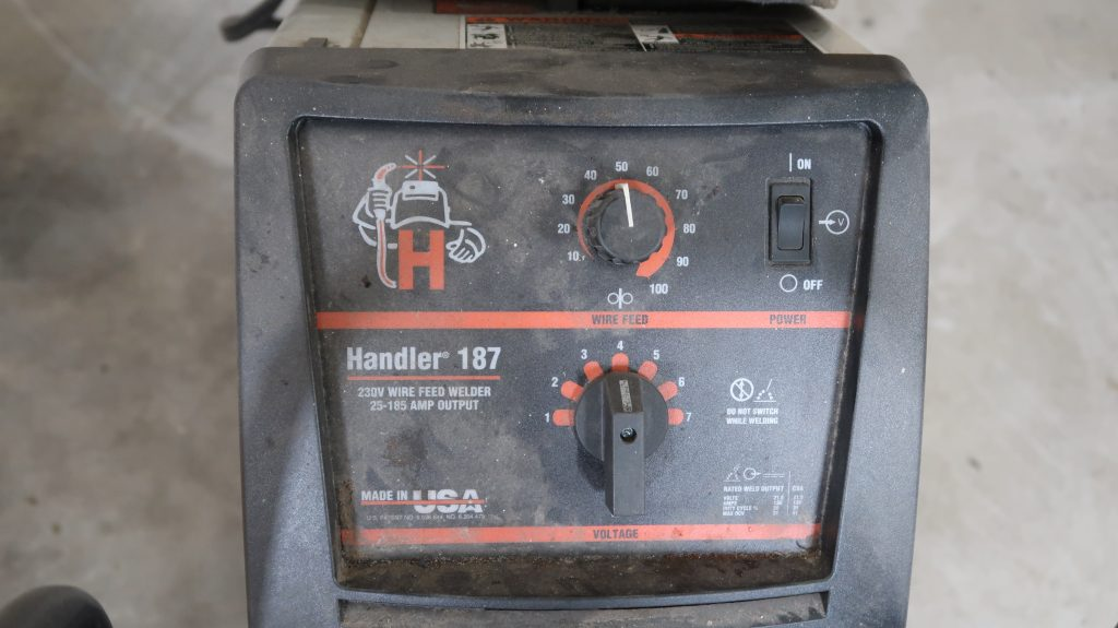 Hobart 187 Welder Settings