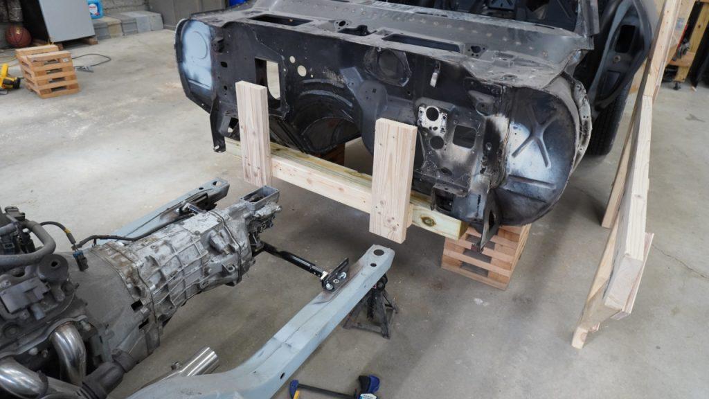 Verticals to attach front tip over jig to Camaro